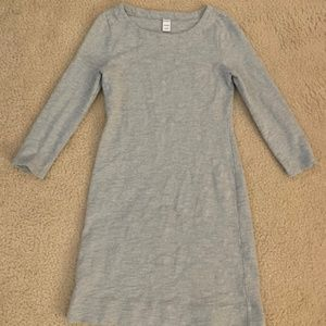Old Navy Gray Sweater Tee Shirt Cotton Dress